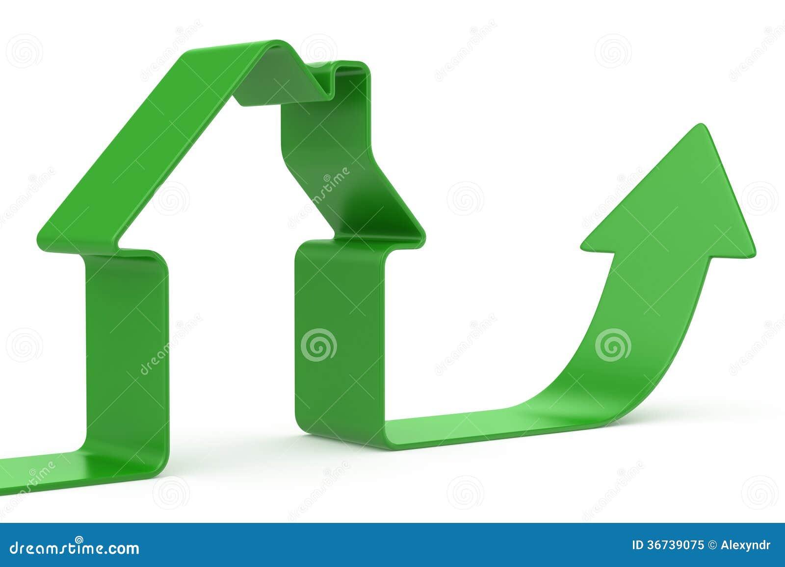 Grönt bandhus