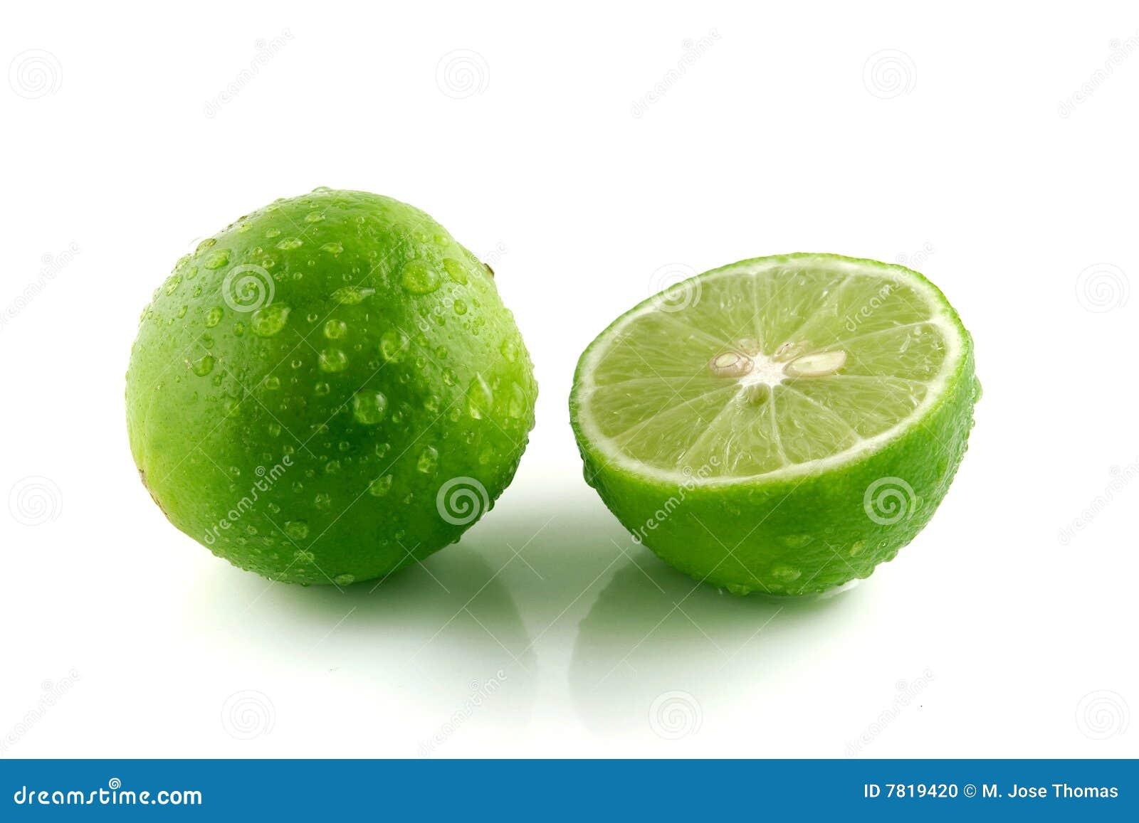 Grönt citronvatten för liten droppe