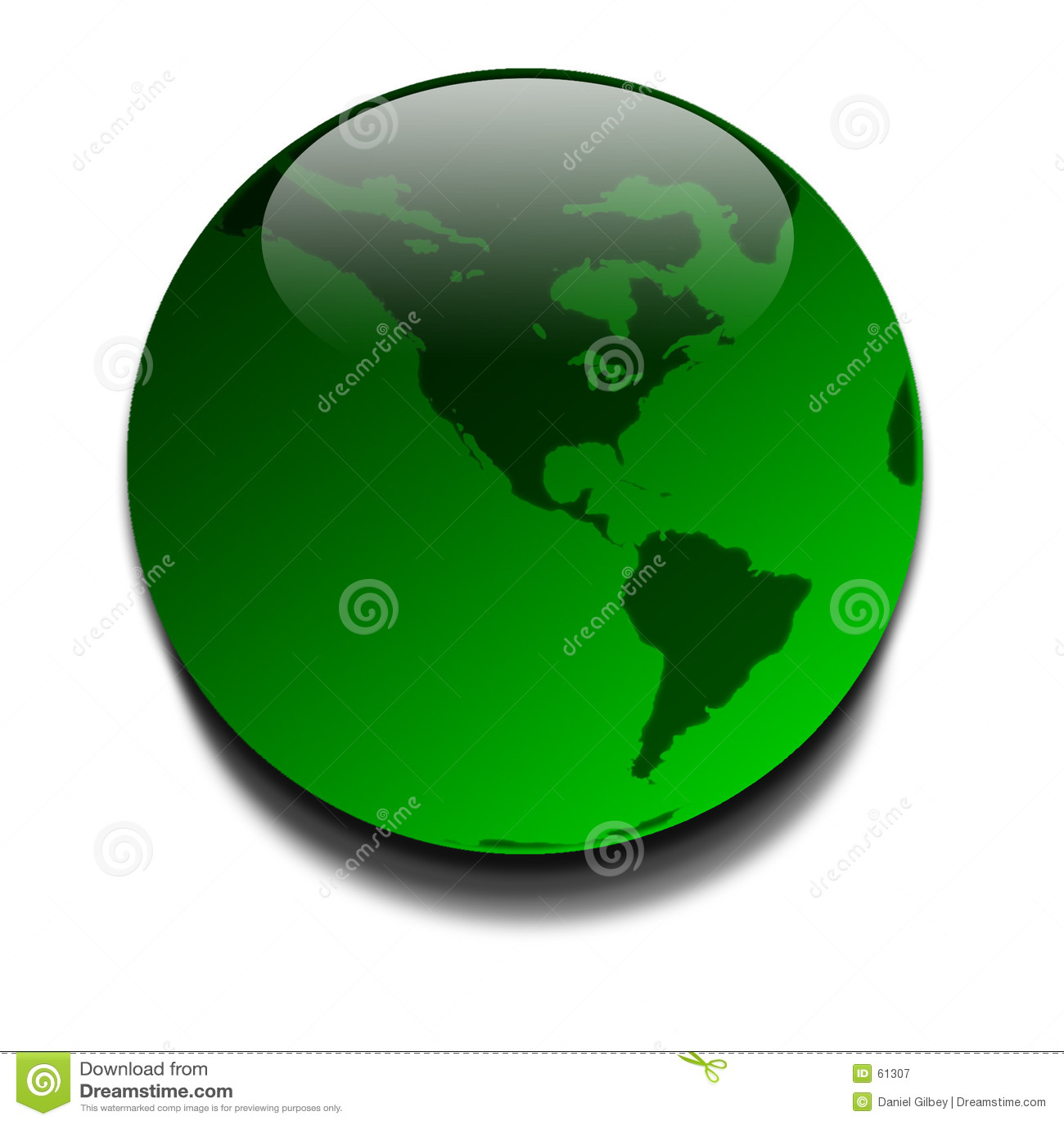 Grönt planet