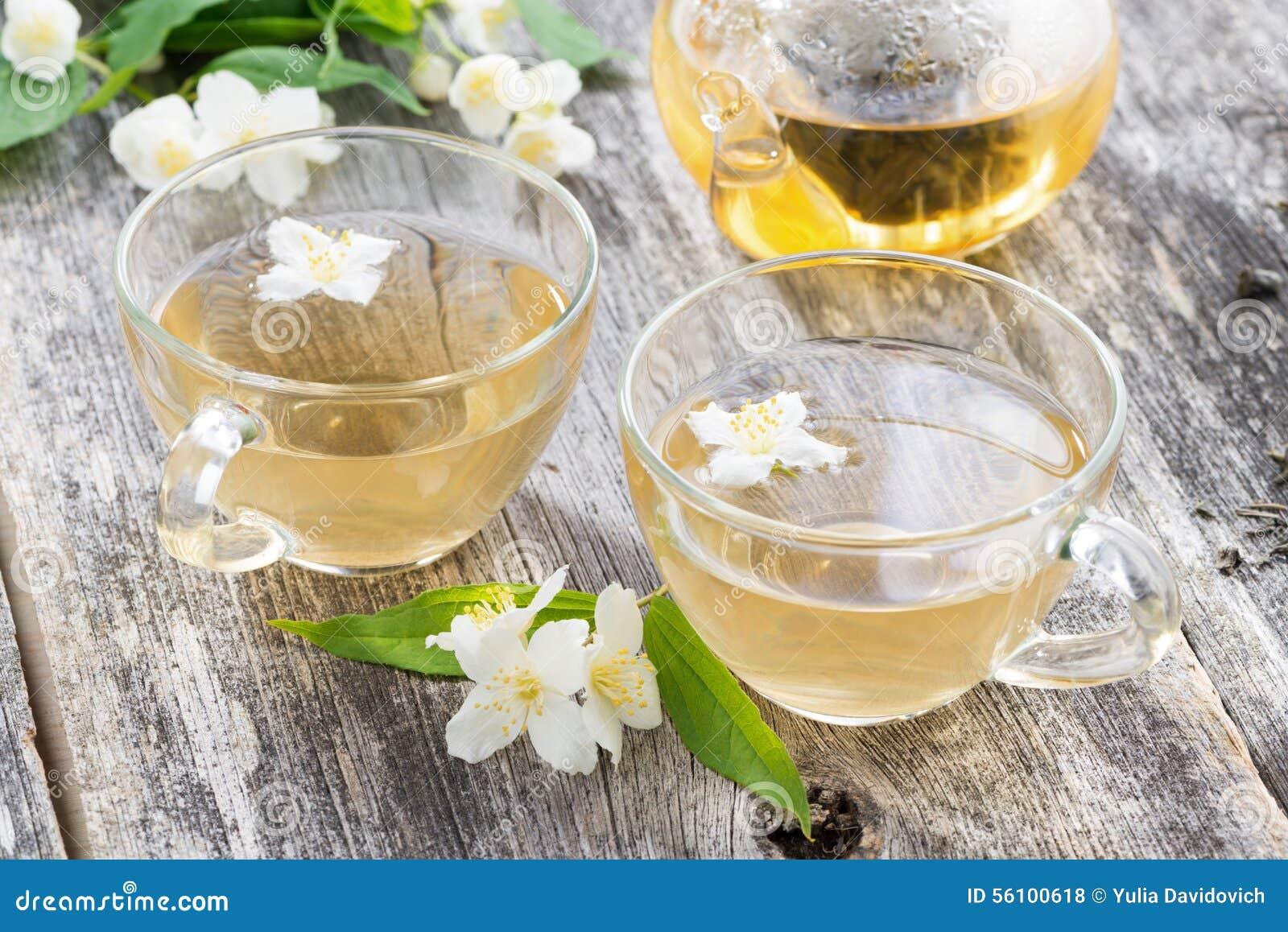 Grönt te med jasmin