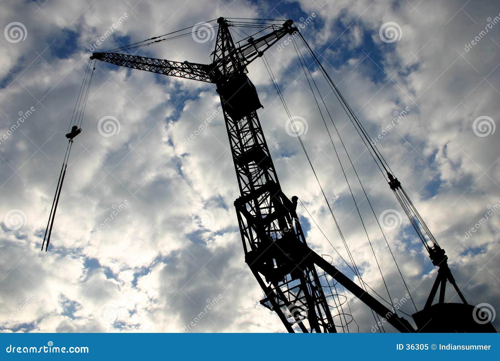Download Grúa de construcción [2] imagen de archivo. Imagen de proyecto - 36305