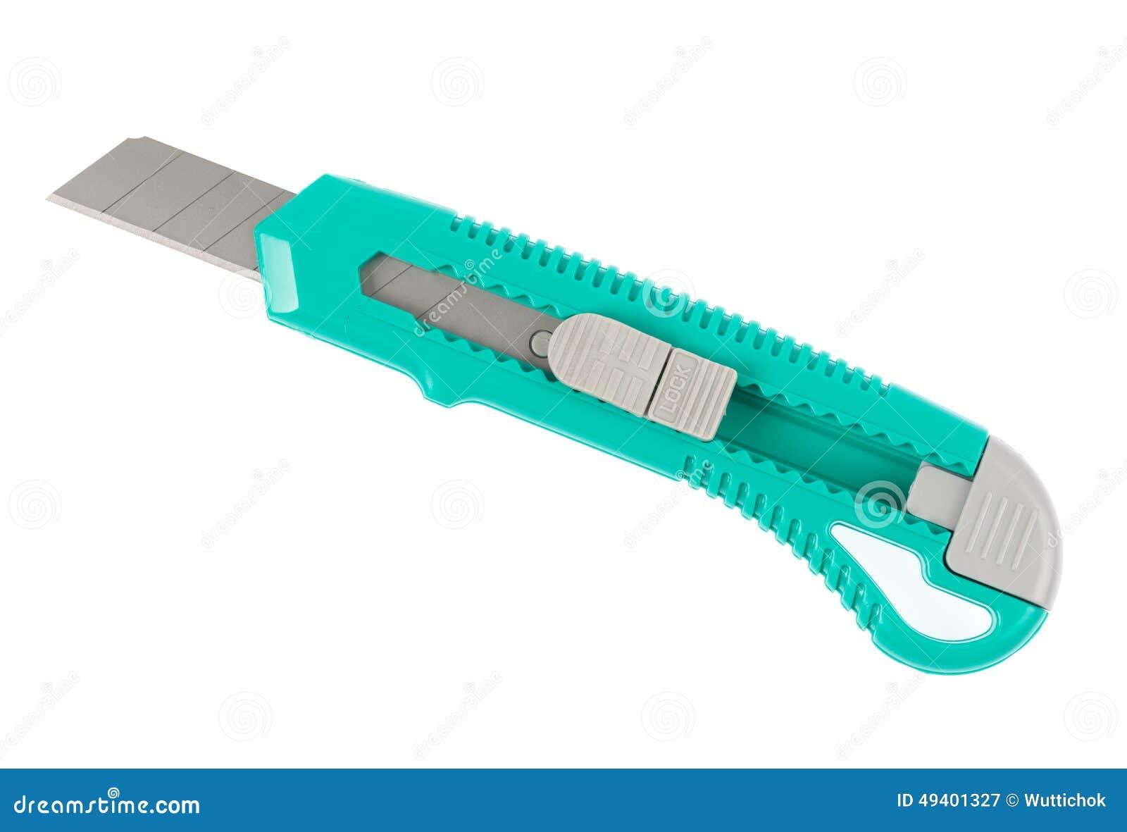Download Grünbuchmesser Auf Einem Weißen Hintergrund Stockbild - Bild von knopf, handlich: 49401327
