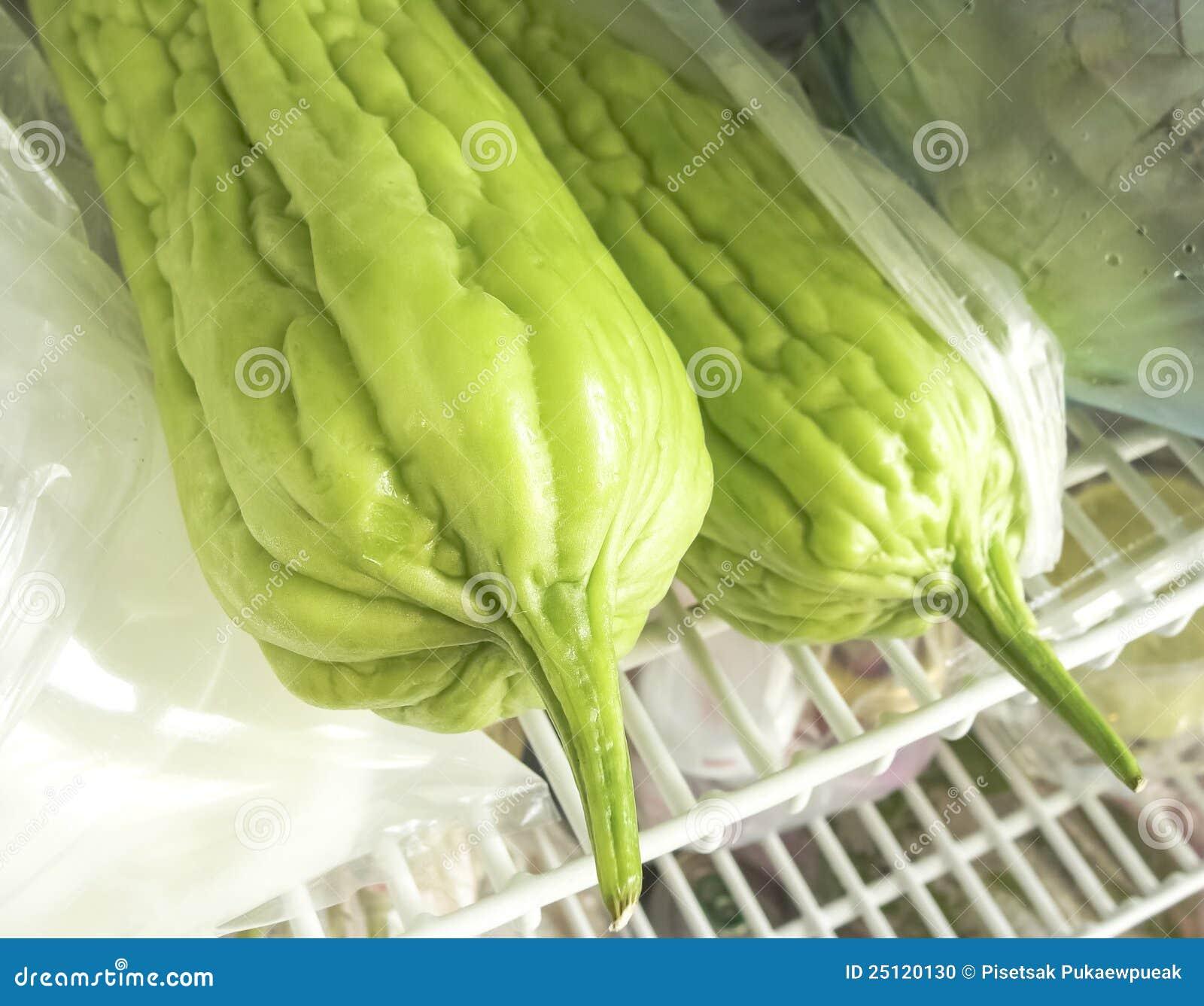 Grüne bittere Melone