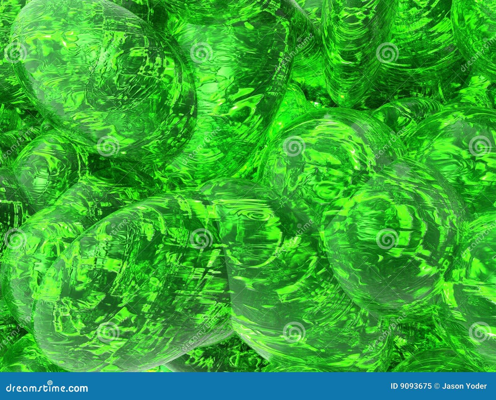 Grüne Flüssigkeit