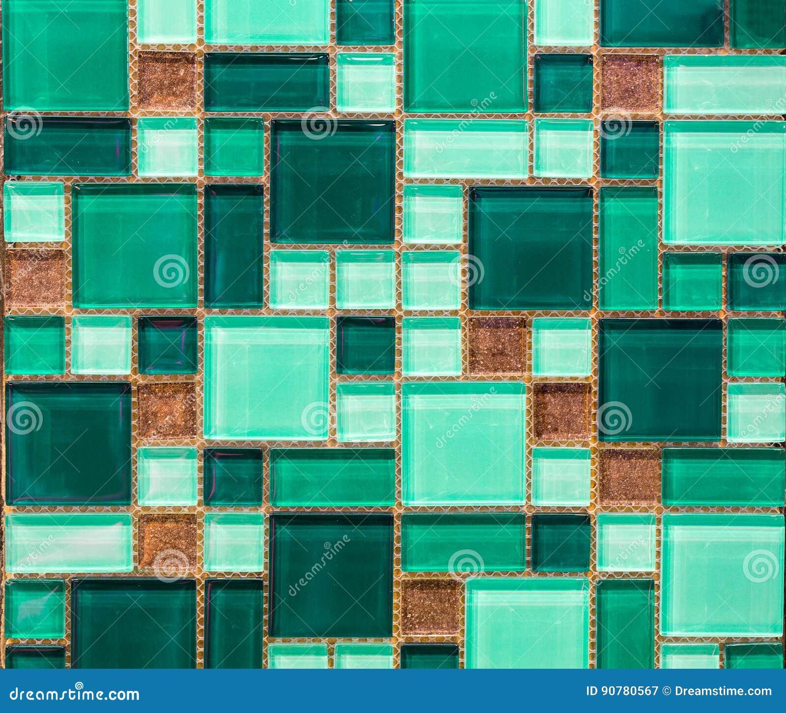 Grüne Fliese stockbild. Bild von auslegung, smaragd, modern - 90780567