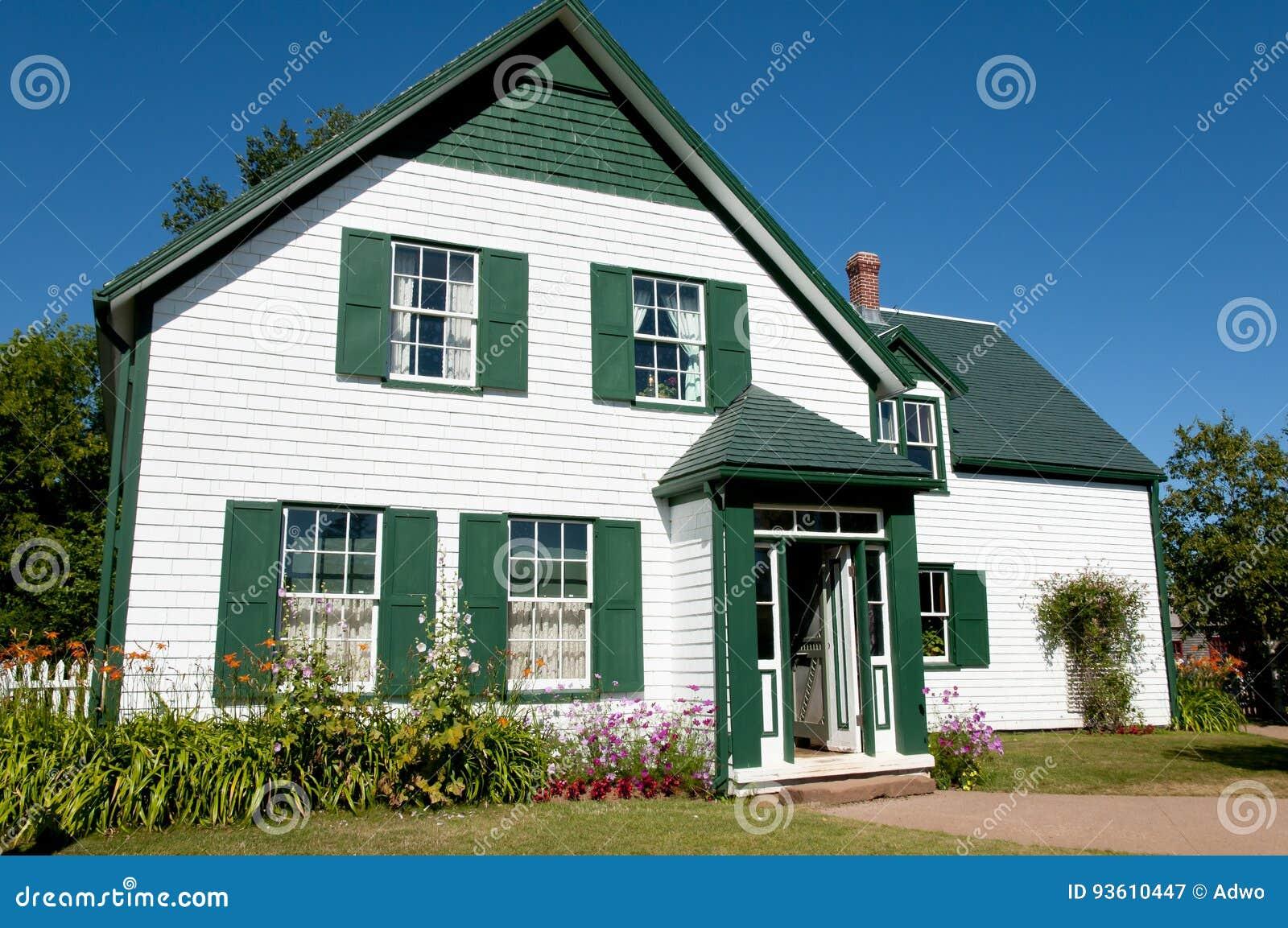 Grüne Giebel-haus- Prinz Edward Island - Kanada