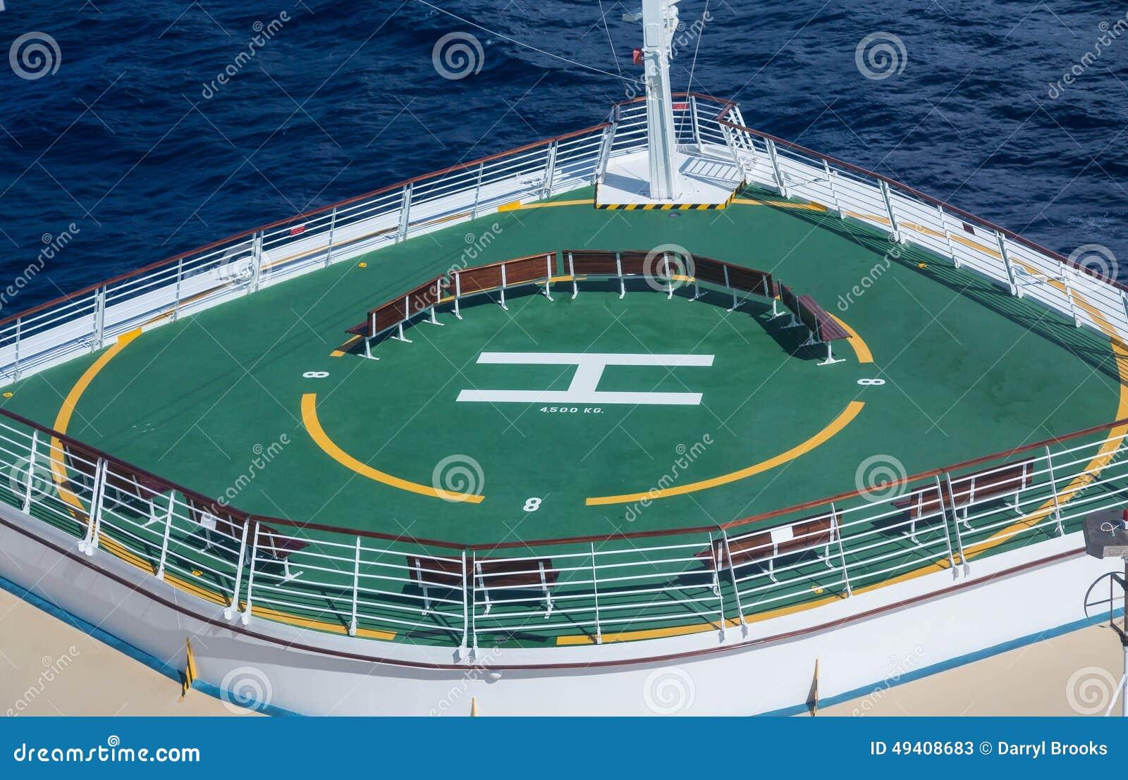 Download Grüne Hubschrauber-Auflage Auf Bogen Des Kreuzschiffs Stockbild - Bild von meer, zeichen: 49408683