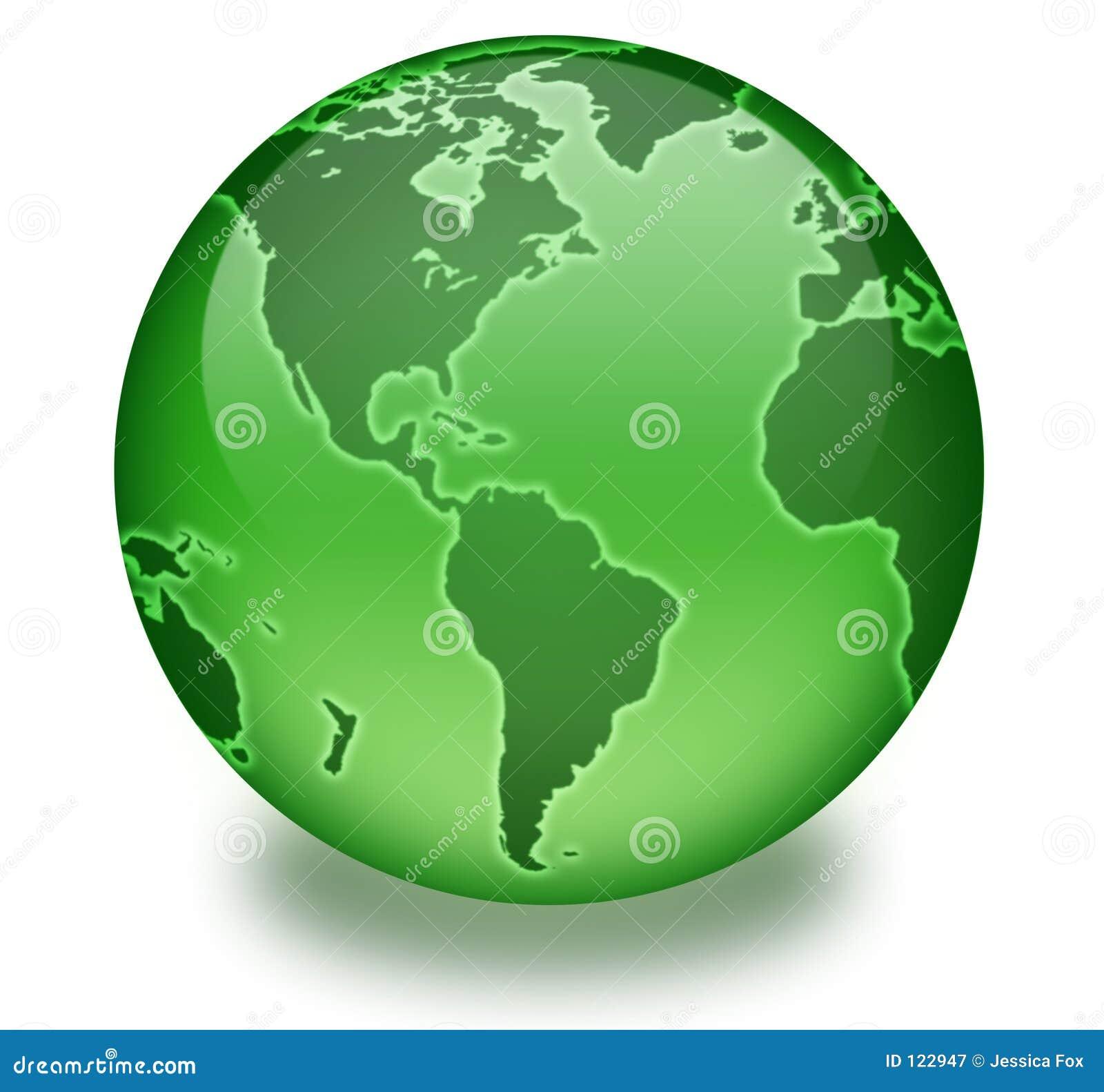 Grüne Leben-Kugel