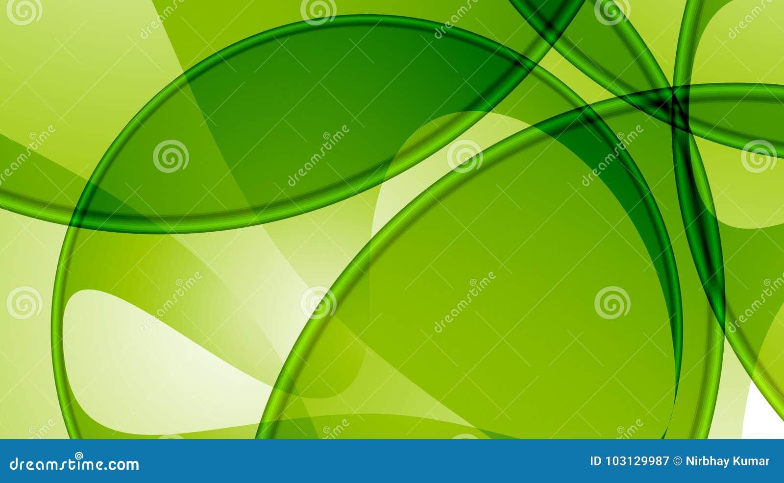 Grünen Sie abstrakte Hintergrundschablone