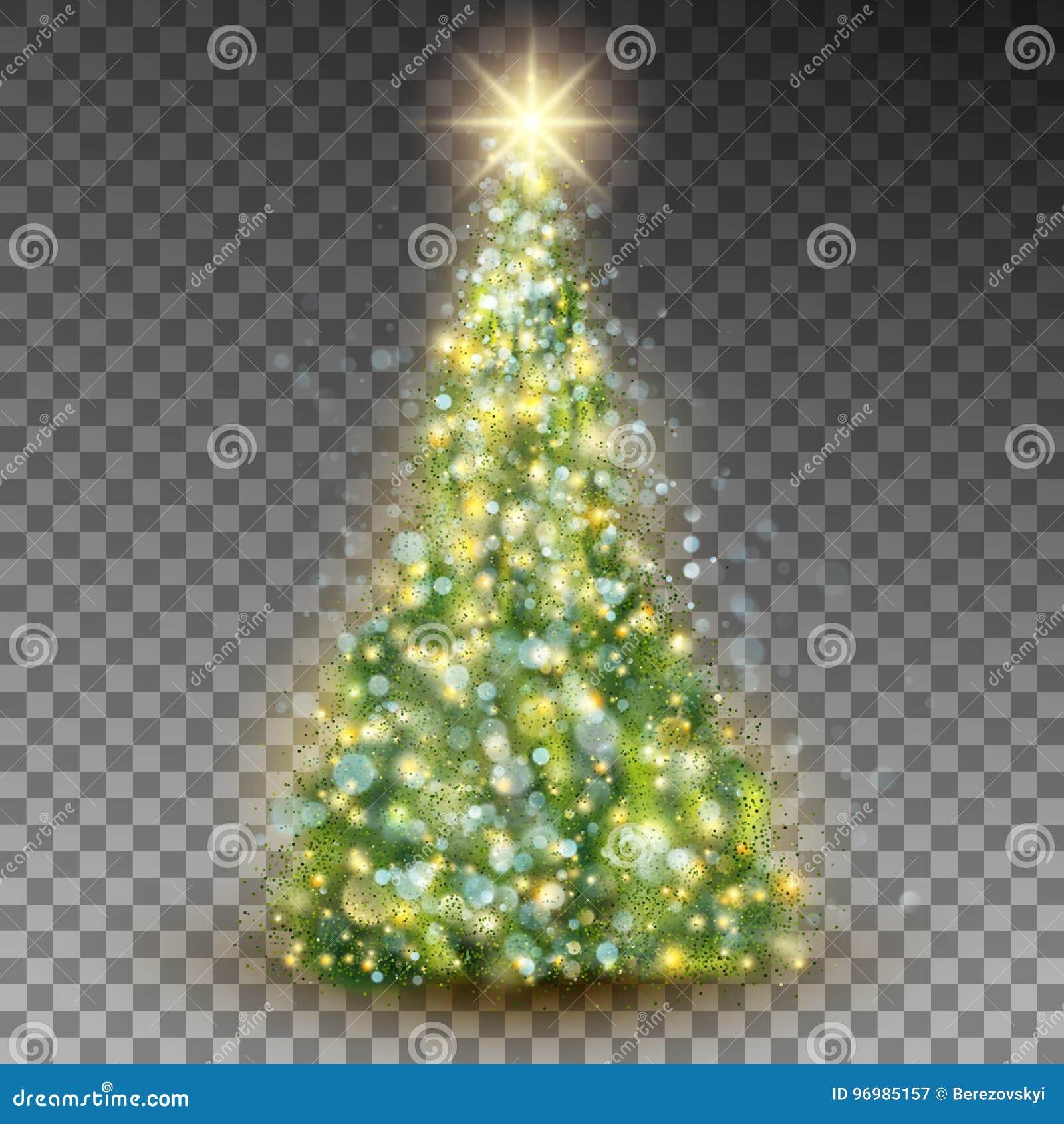 Grüner abstrakter Weihnachtsbaum Vektor ENV 10