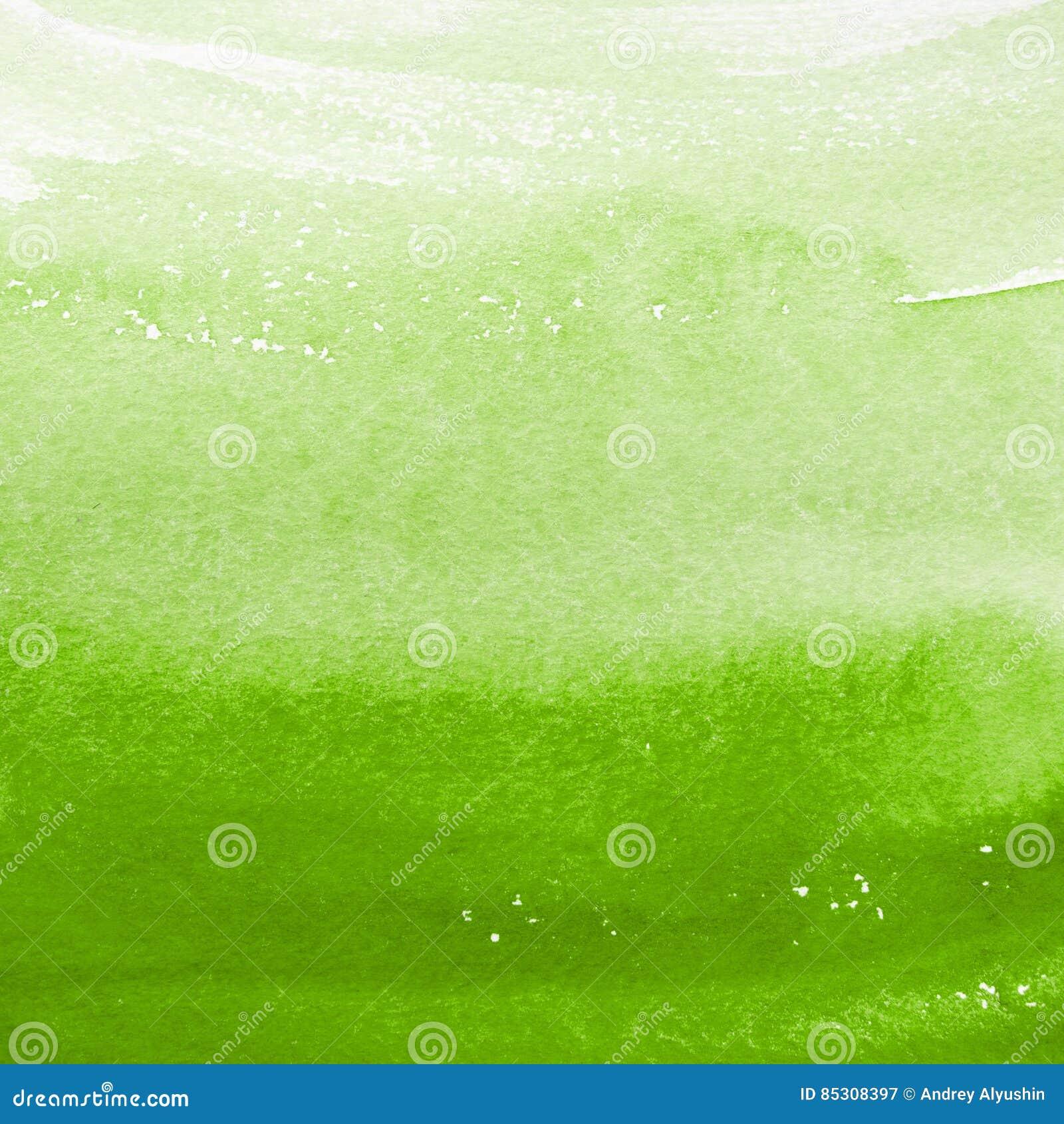 Grüner Aquarellhintergrund