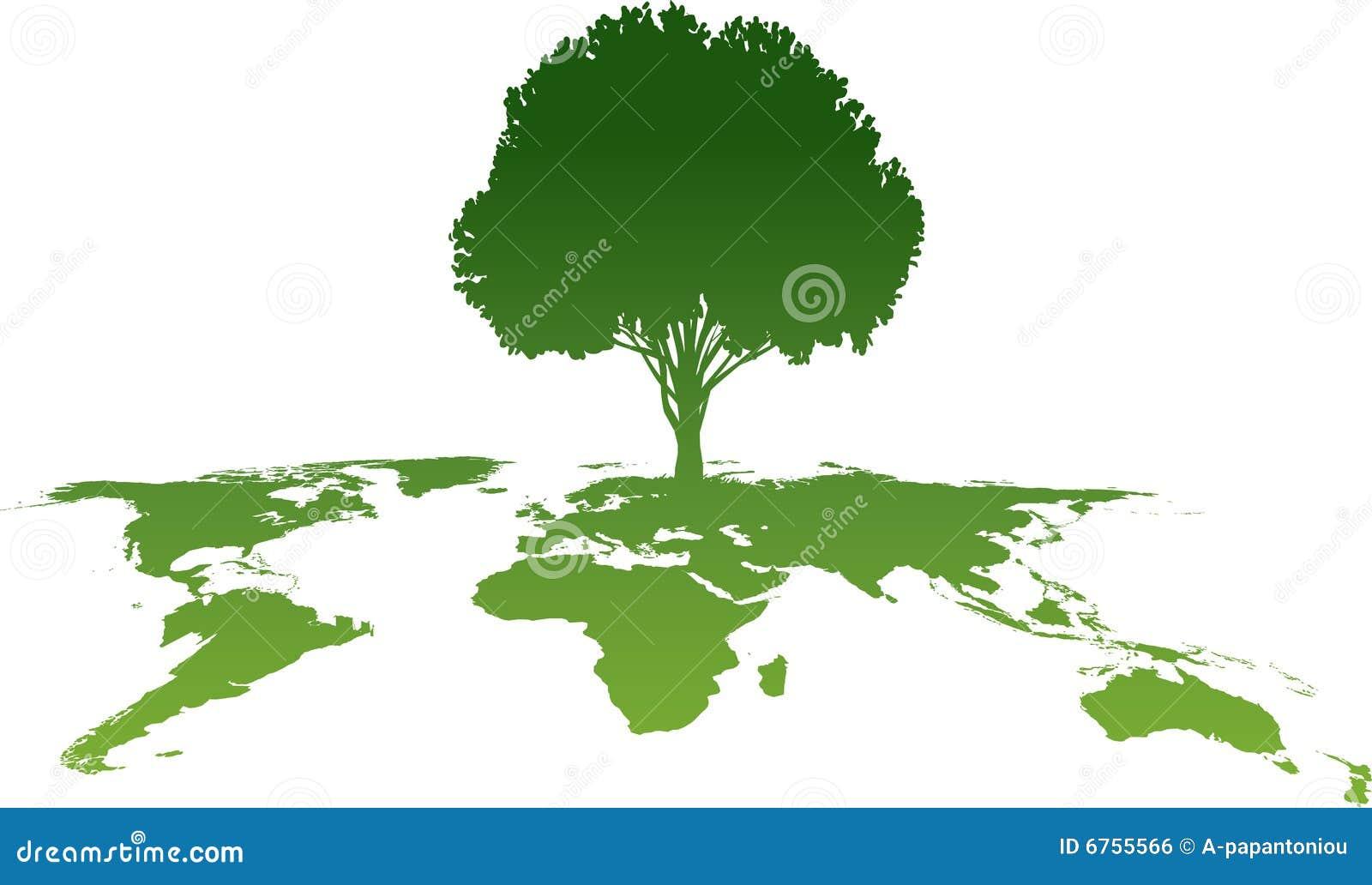 Grüner Baum Atlas