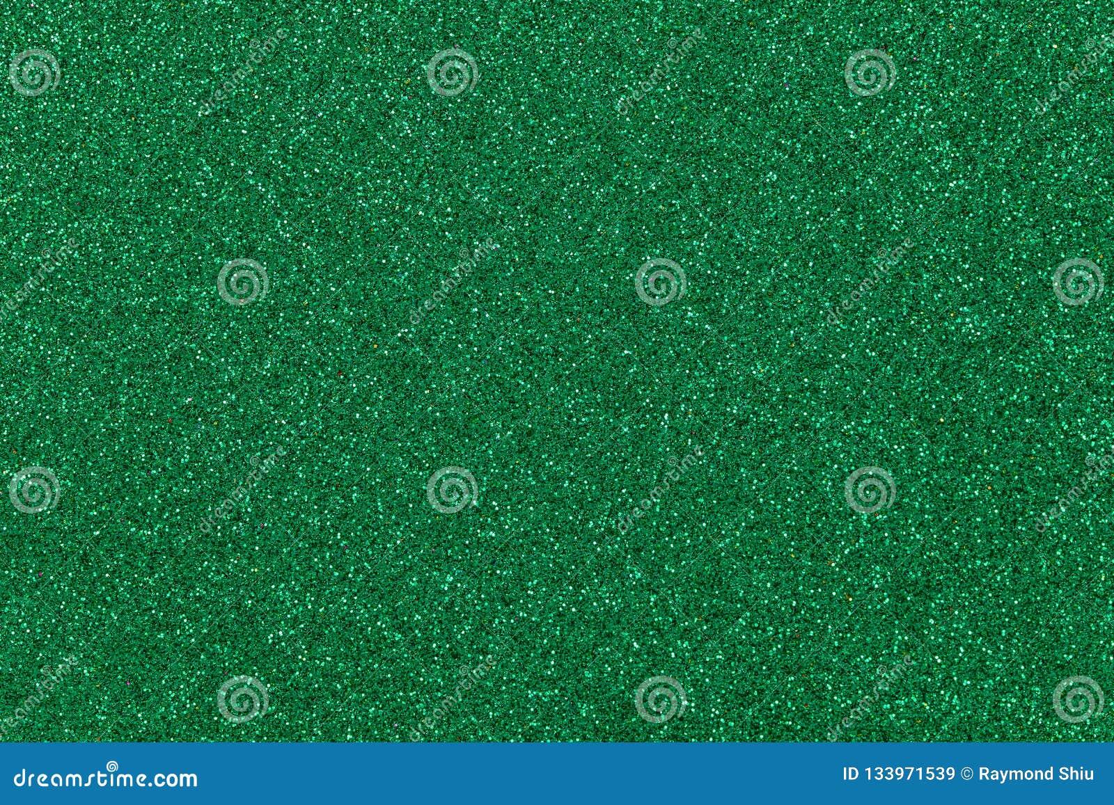 Grüner Funkelnhintergrund