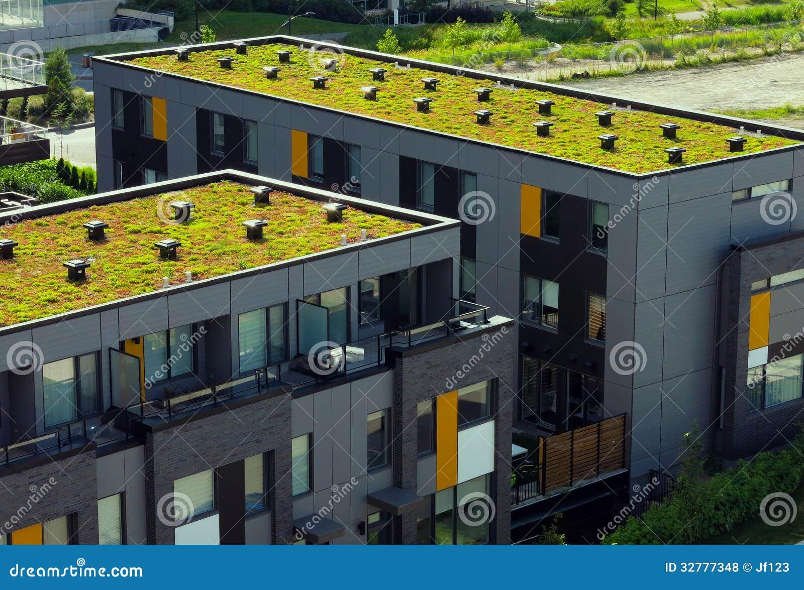 gr nes dach lizenzfreie stockfotos bild 32777348. Black Bedroom Furniture Sets. Home Design Ideas