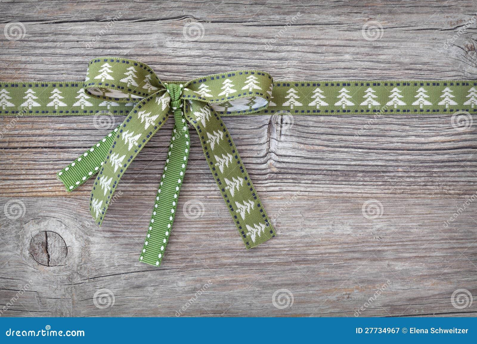 Grünes Farbband