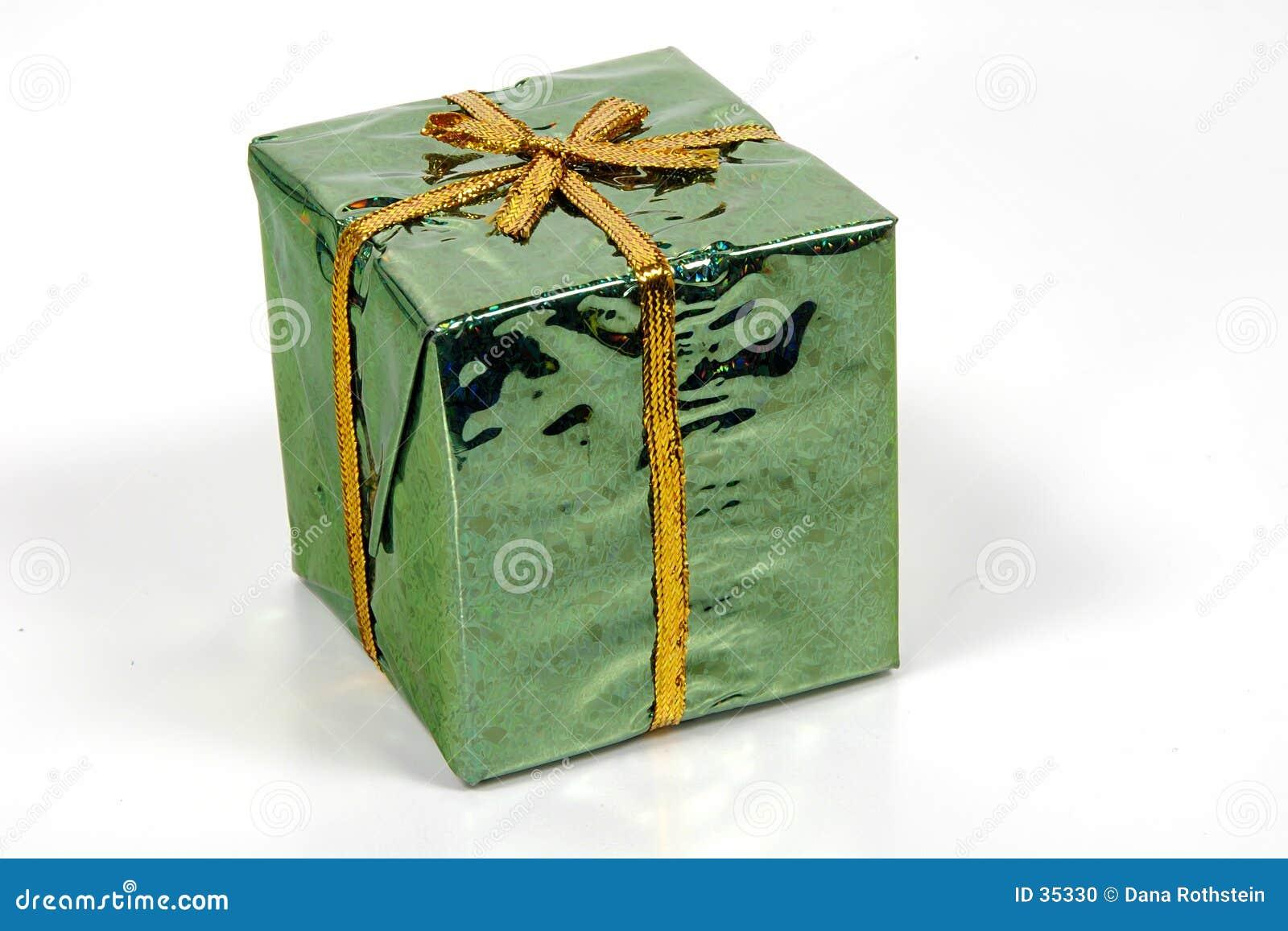 Grünes Giftbox