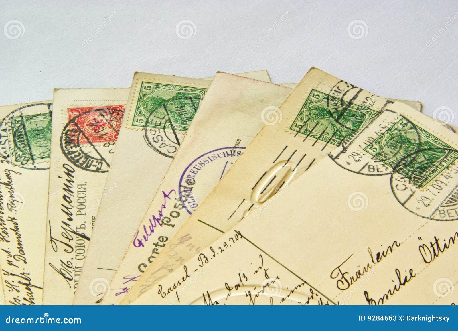 Grępluje starą poczta
