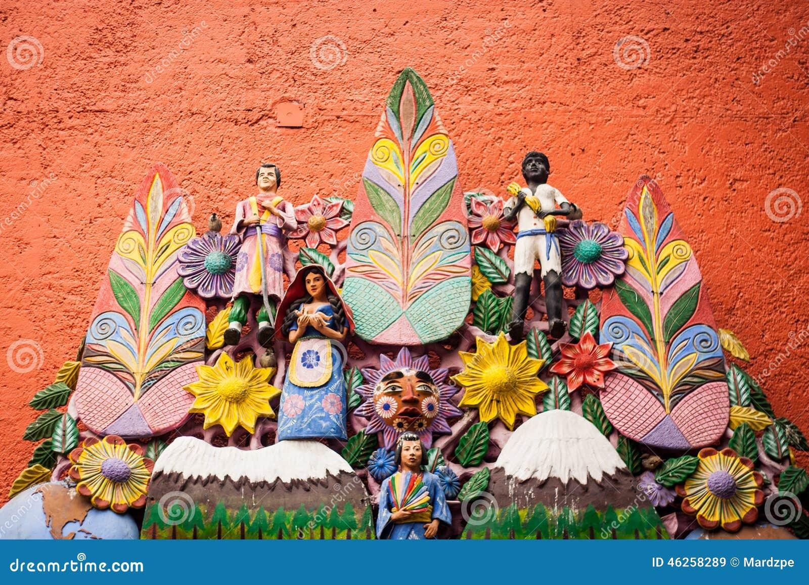 Gr Arbol De La Vida De Boom Van Het Leven Een Azteekse Traditie
