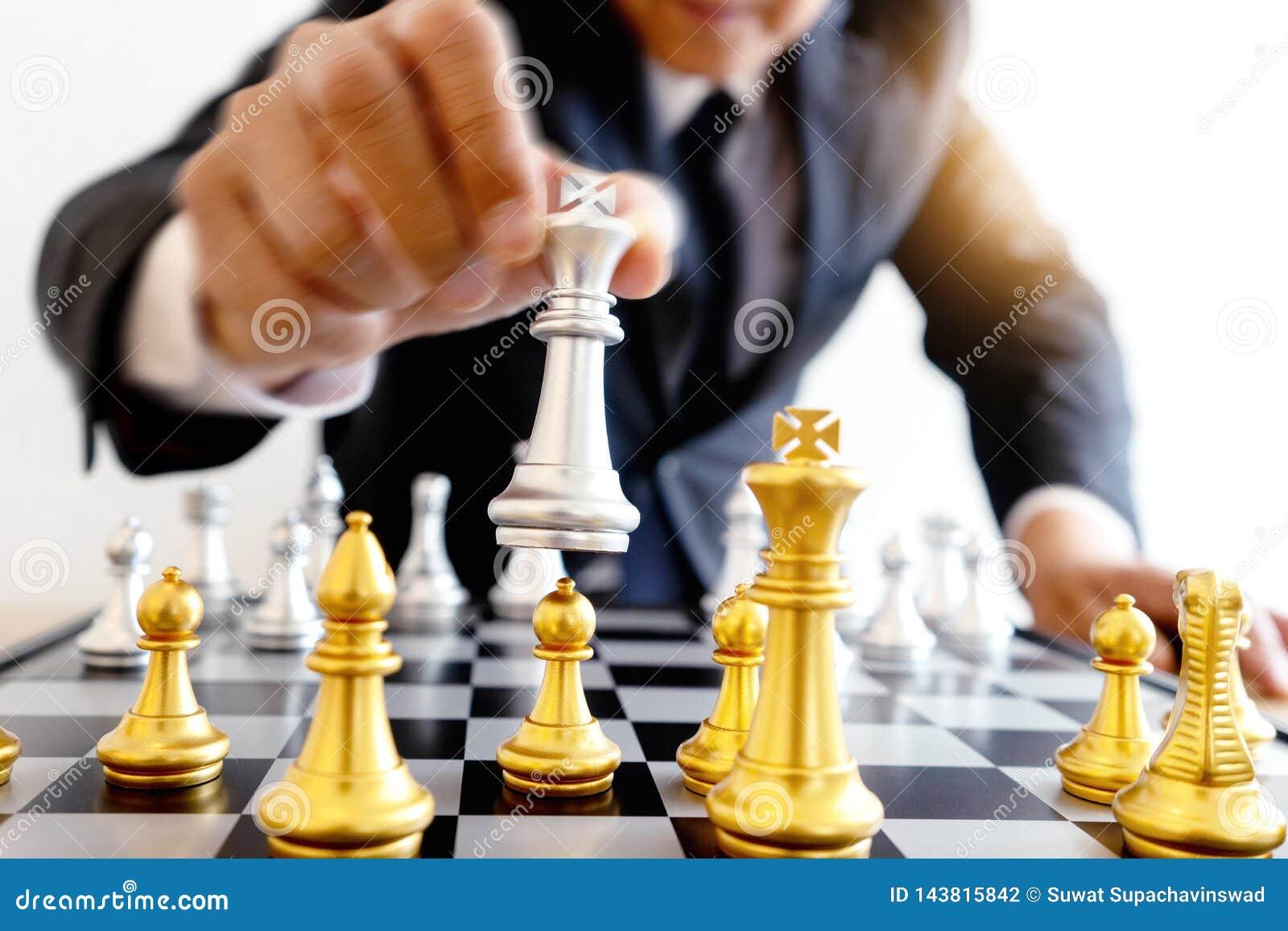 Gra planszowa szachy z?oto i srebro