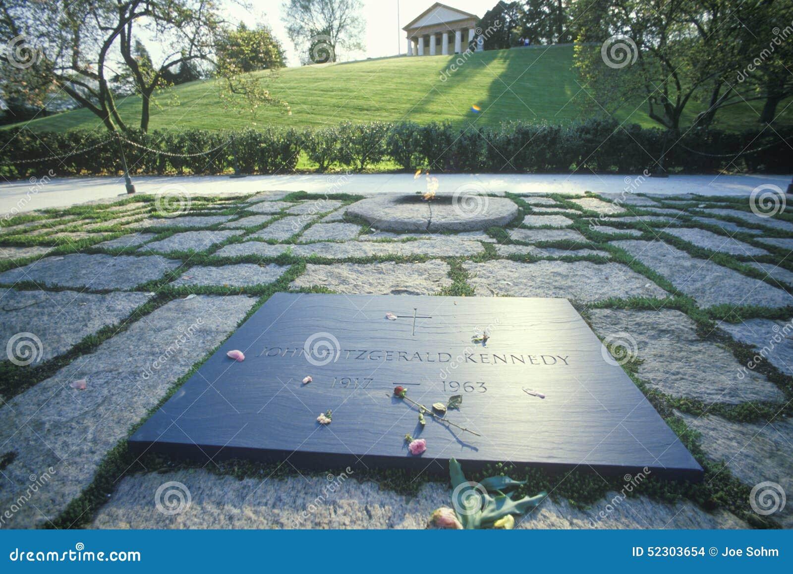 Grab Des Präsident John F Kennedy Arlington Kirchhof Washington