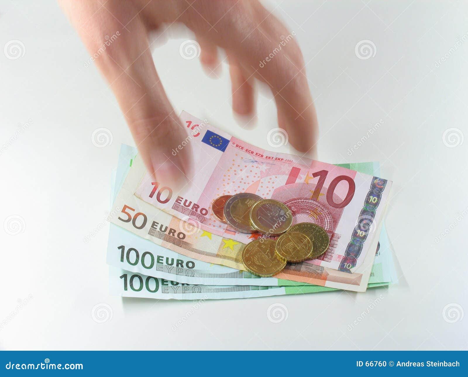Grabbing Euros