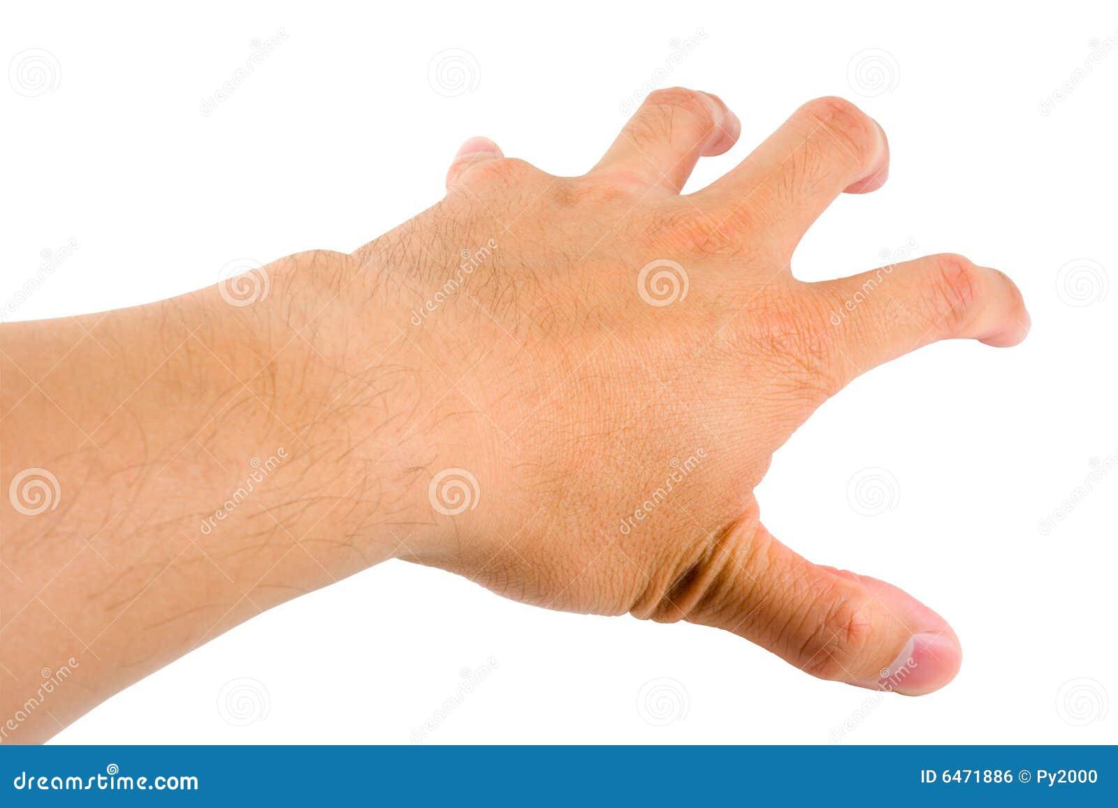 grabbing hand stock photo image of grasp body fingers 6471886