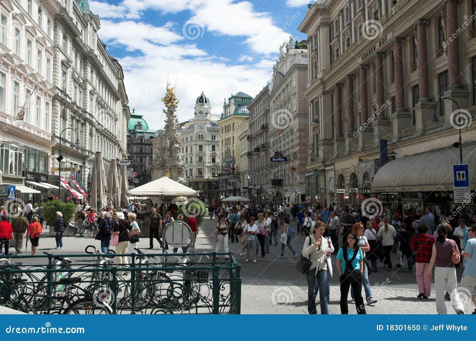 Graben ulicznego Vienna
