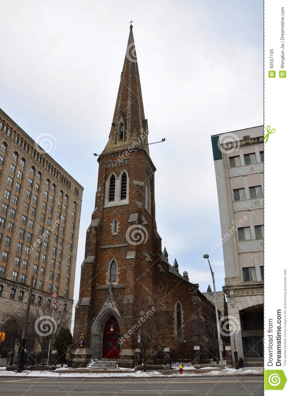 Grace Church, Stato di New York di Utica, U.S.A.