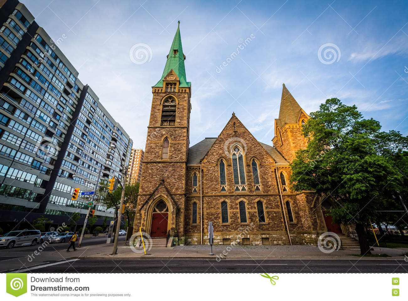 Grace Toronto Church, In The Garden District, Of Toronto, Ontari ...