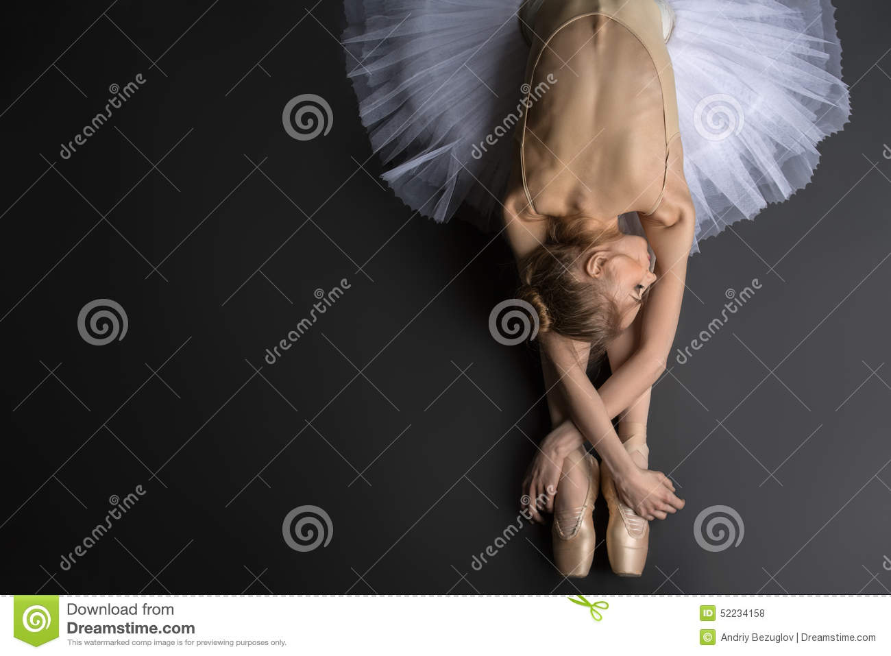 Graceful ballerina stock photo image 52234158 for 13th floor pitch black