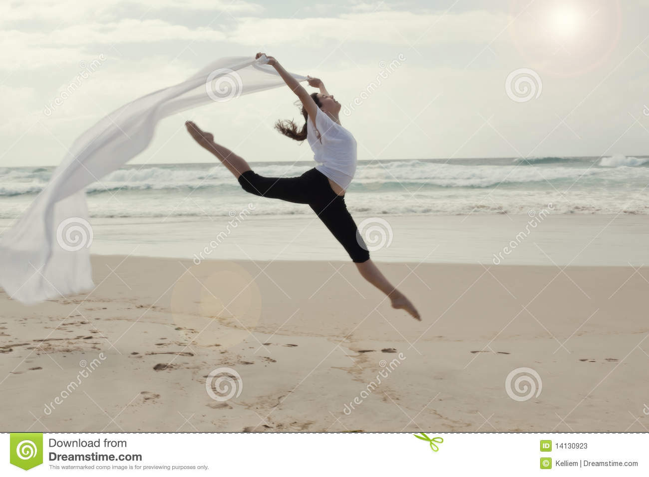 graceful dancer on beach stock photos image 14130923 ballet slippers clipart free ballerina slippers clipart
