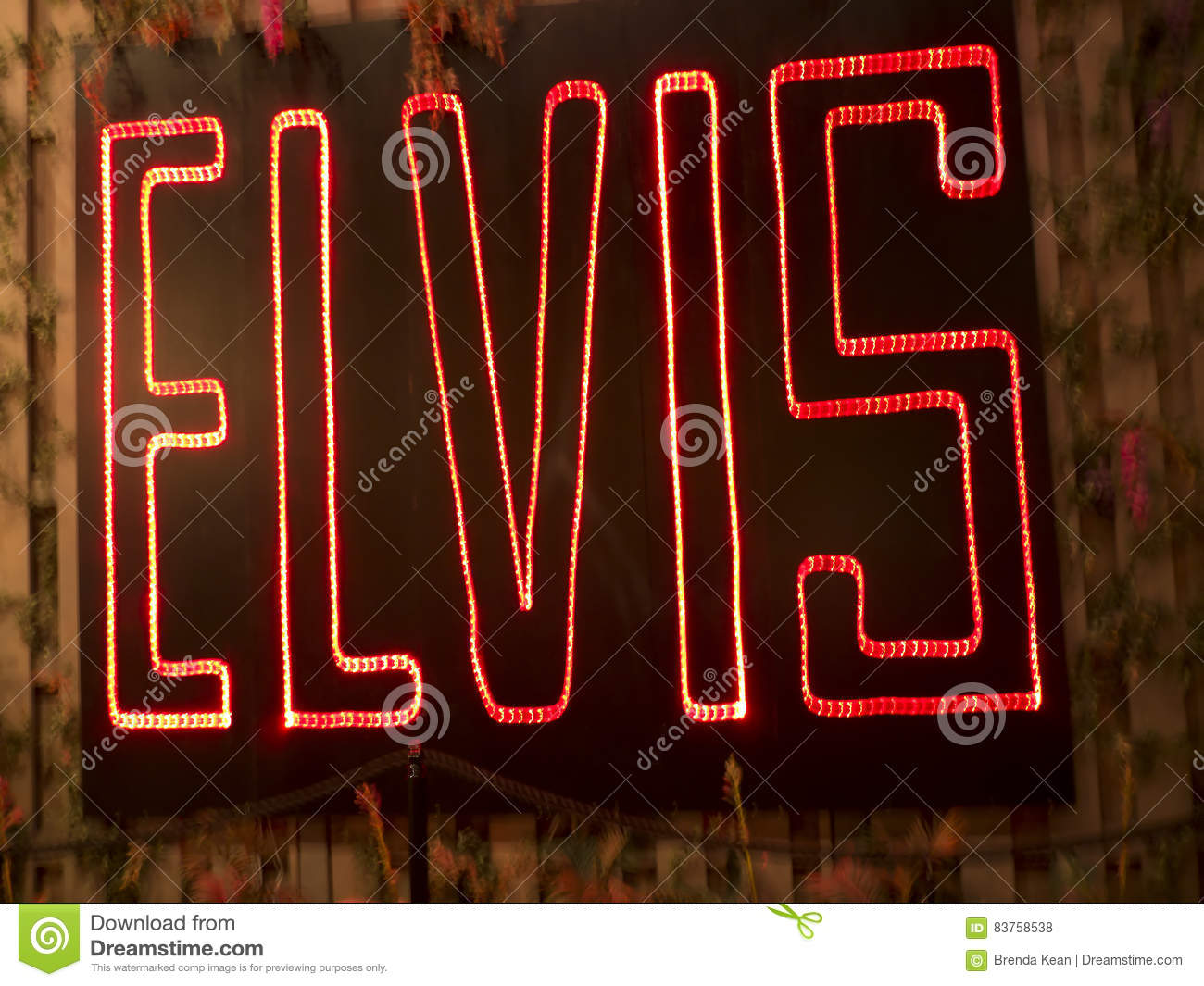 Graceland is the home of Singer Elvis Presley in style of an antebellum mansion and a magnet for music fans