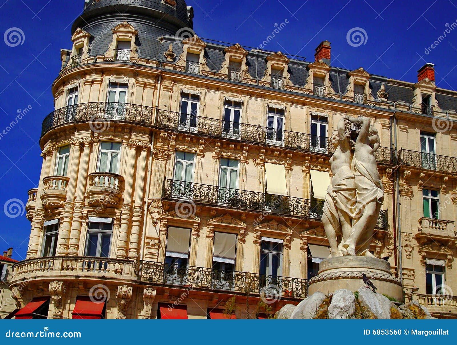 Graces статуя 3 montpelier