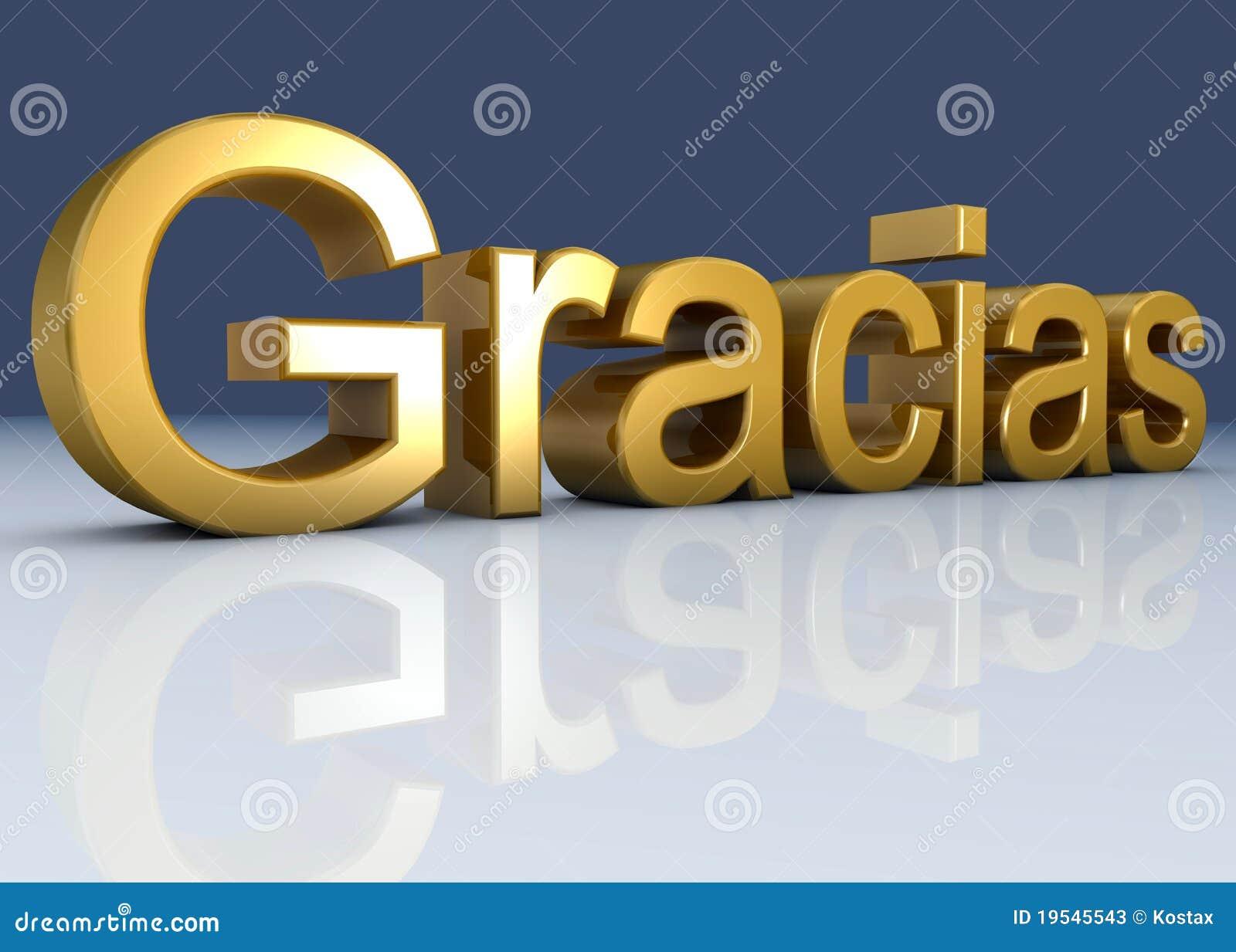 gracias stock photos