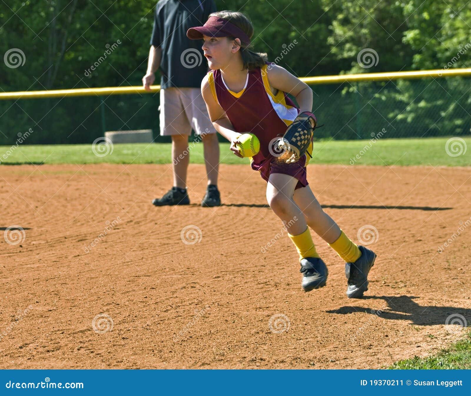 Gracza softballa potomstwa