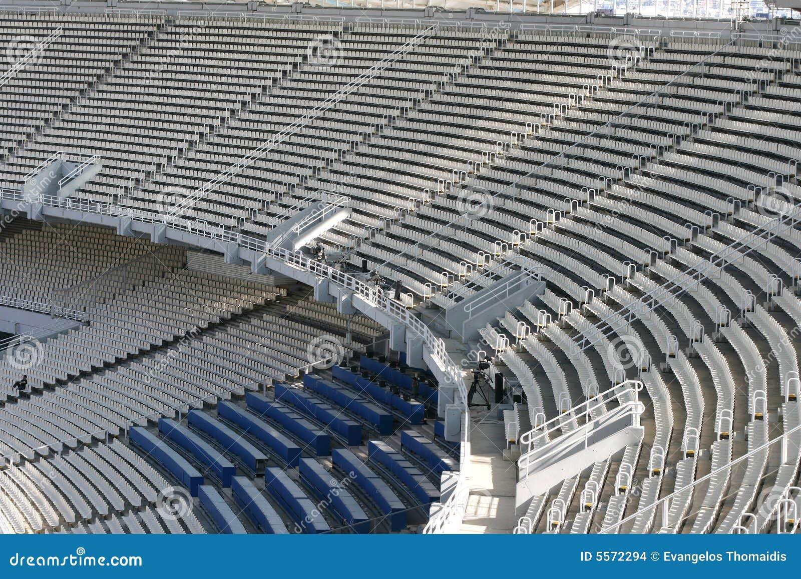 Gradas del estadio imagenes de archivo imagen 5572294 for Imagenes de gradas