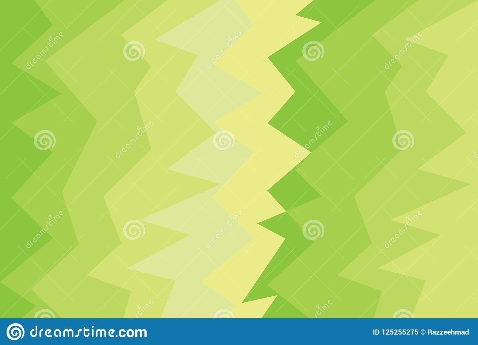 Gradation green light banner modern background style. Texture abstract wallpaper