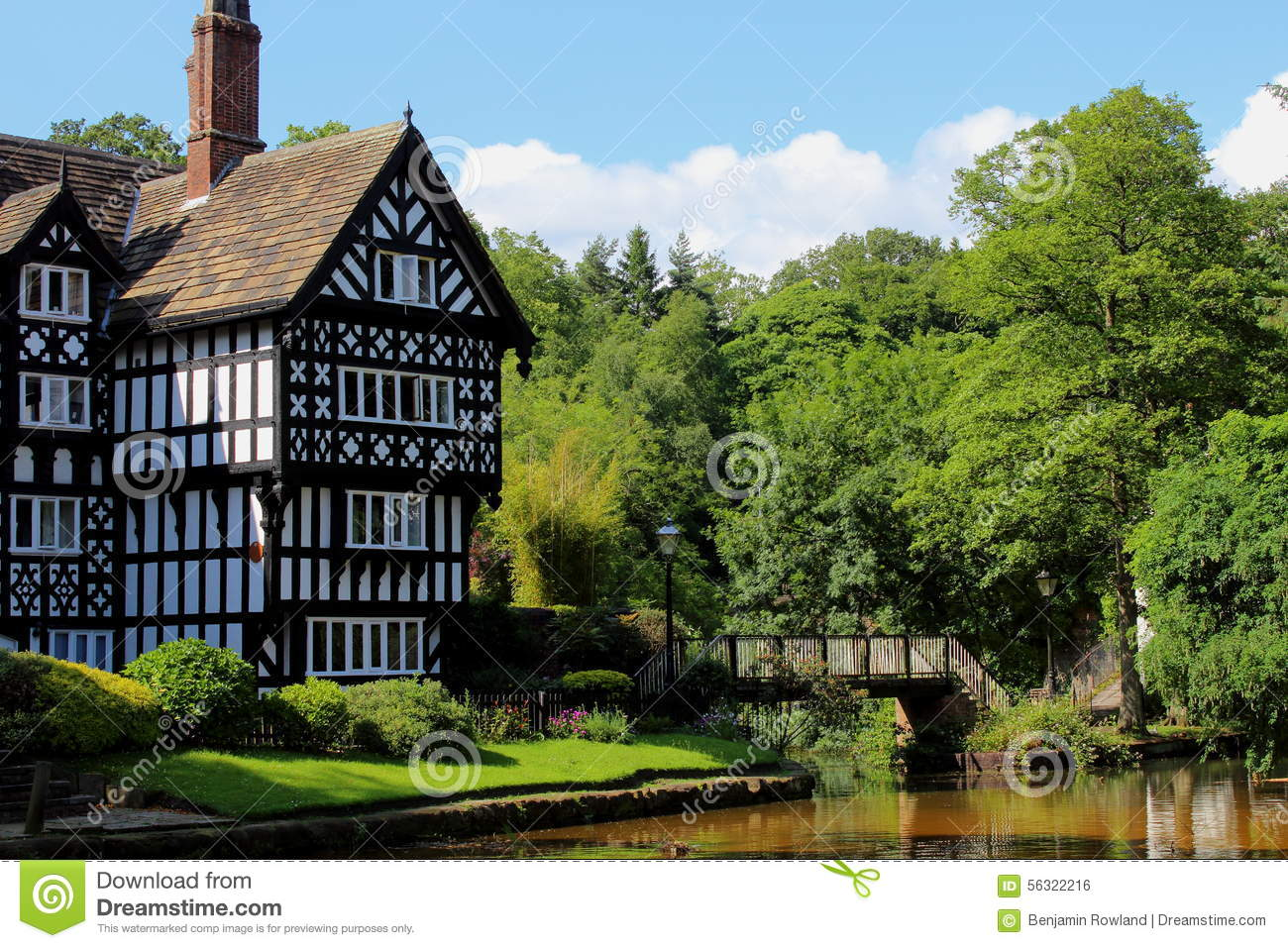 Grade II Listed Mock Tudor Building