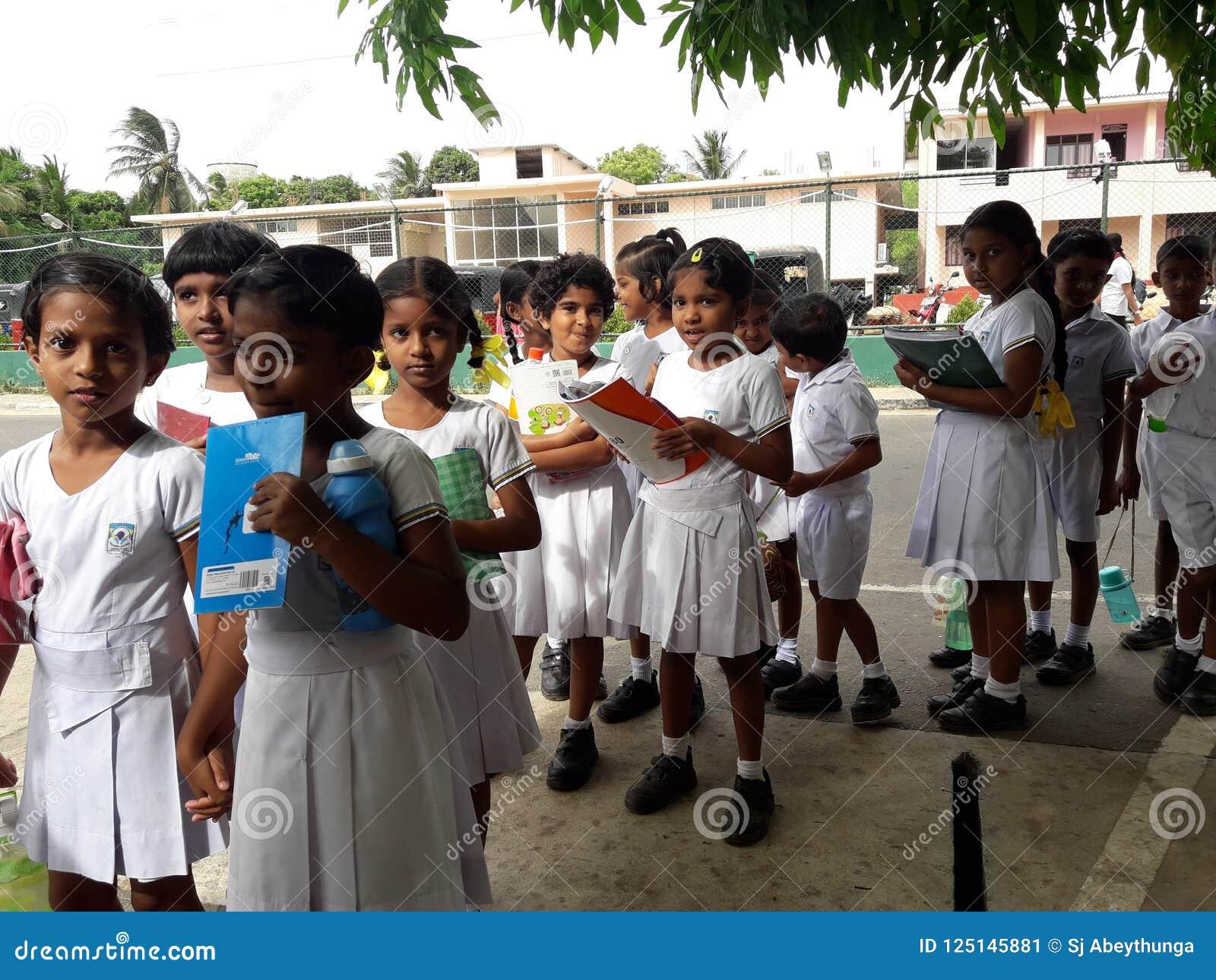 Srilankan School Students