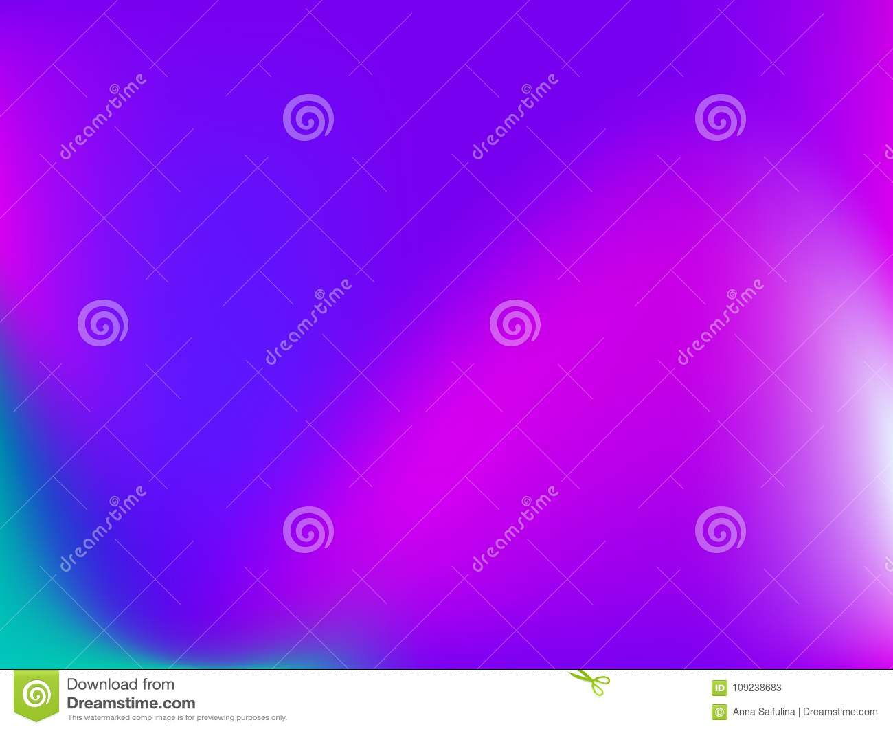 Gradient background. Vector illustration. Abstract creative concept multicolored blurred backdrop.