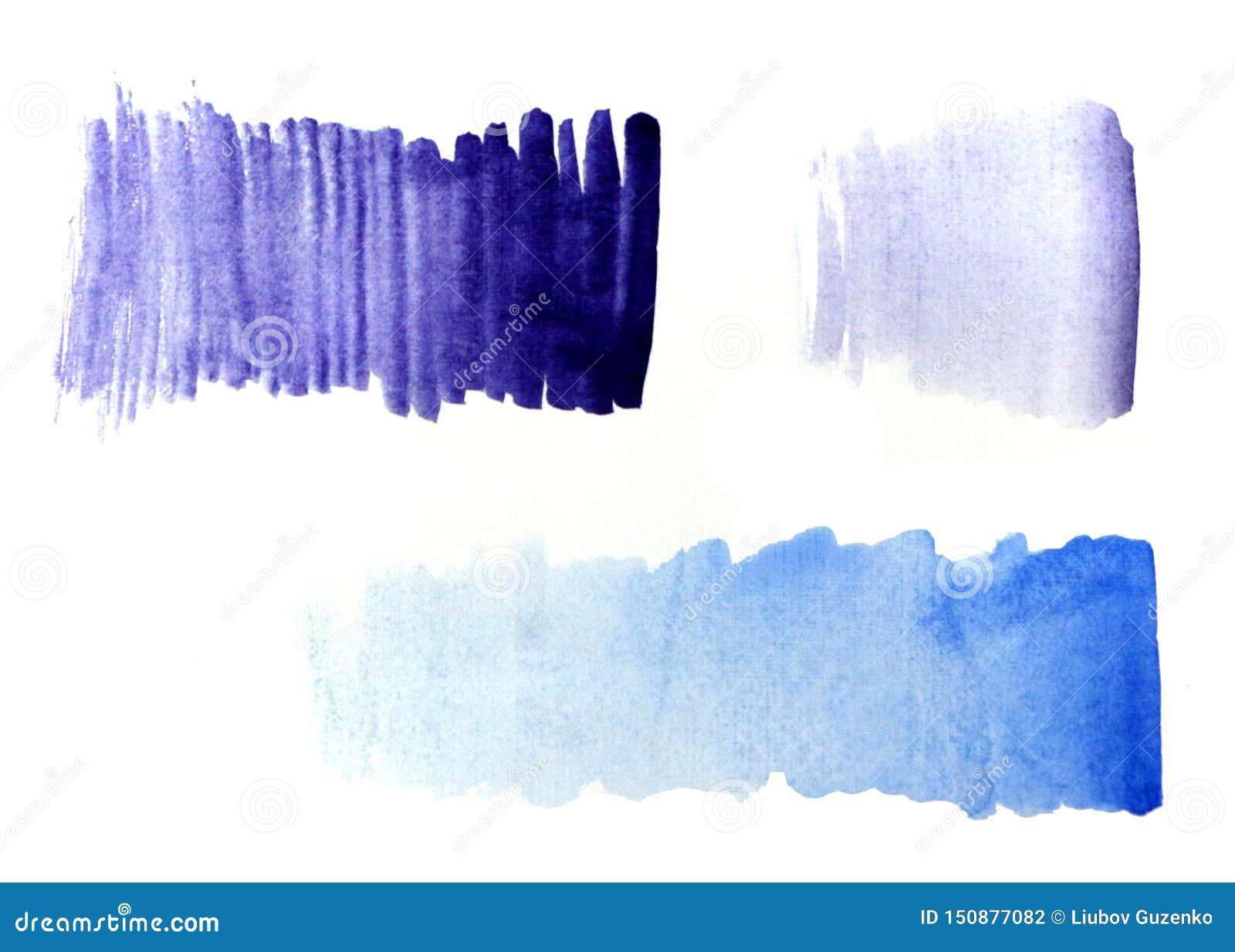 Gradient bleu de gradient pourpre