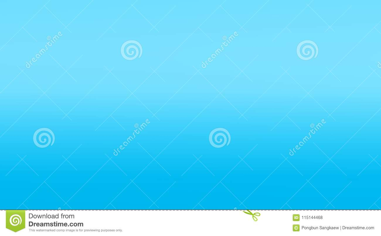 Gradient Blue Smooth Template Banner Wallpaper Background Stock