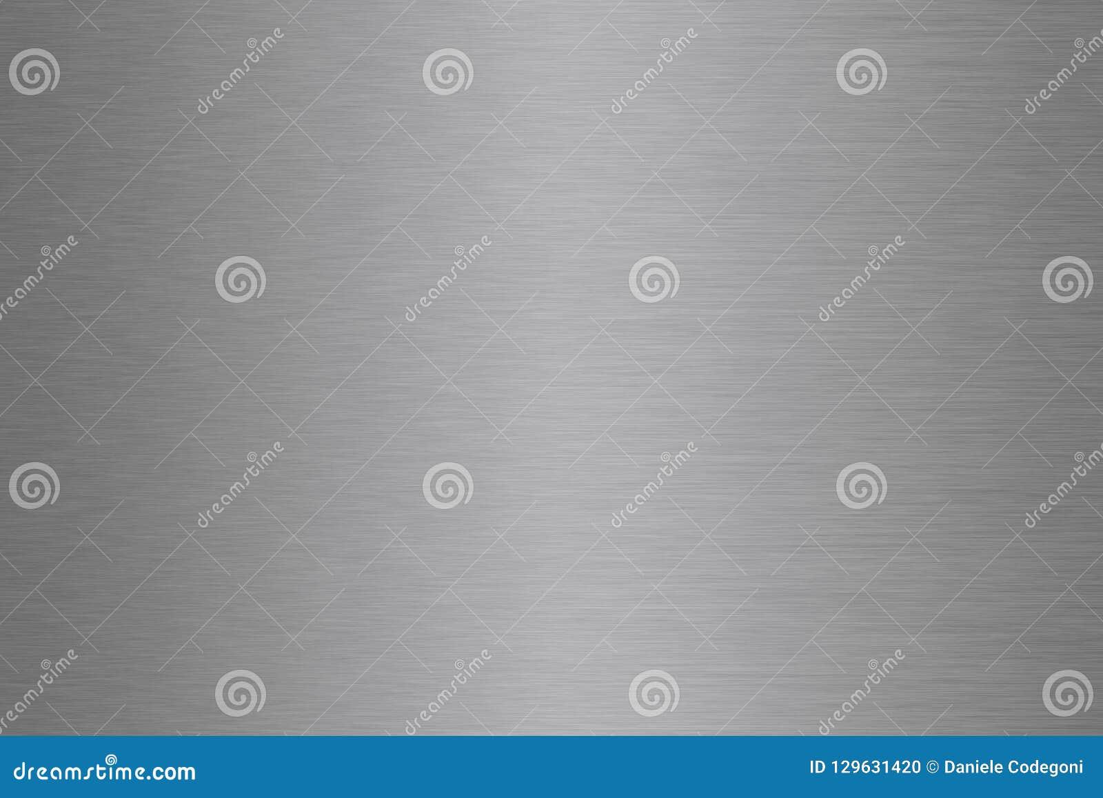 Gradient en aluminium, en acier, argenté, balayé de fond en métal