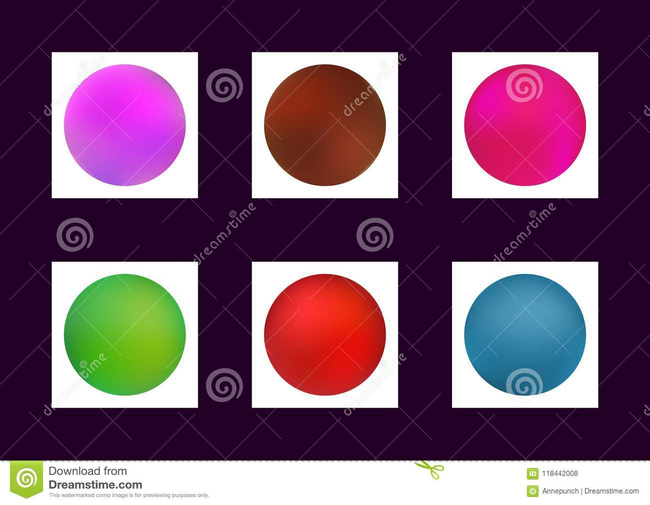 Gradient Mesh  Collection Of Colorful Blurred Backgrounds