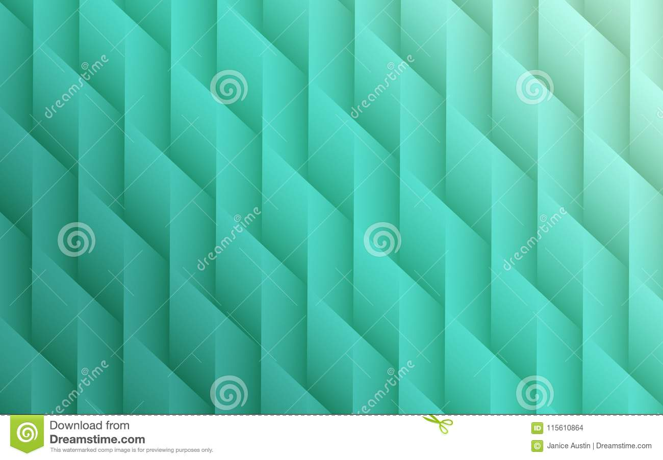 gradient seafoam green colors geometric lines angles abstract