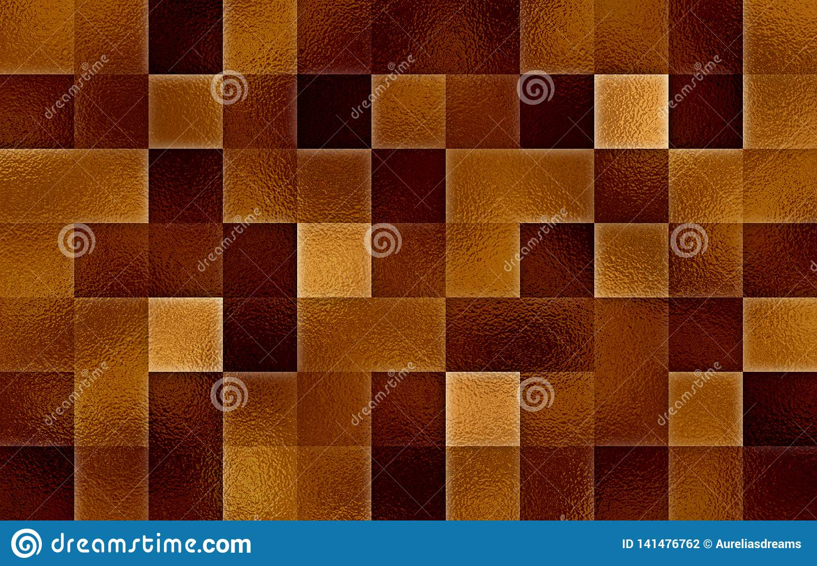 Gradientowi geometryczni kwadratowi bloki Szklana tekstura abstrakcyjny tło