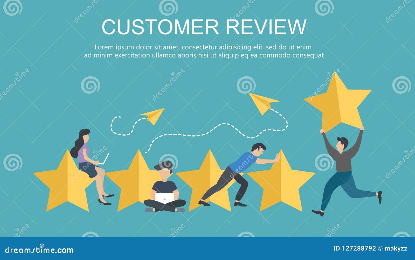 Grado de cliente La mejor estimación del funcionamiento, la cuenta de cinco puntos Gente vote y comentarios