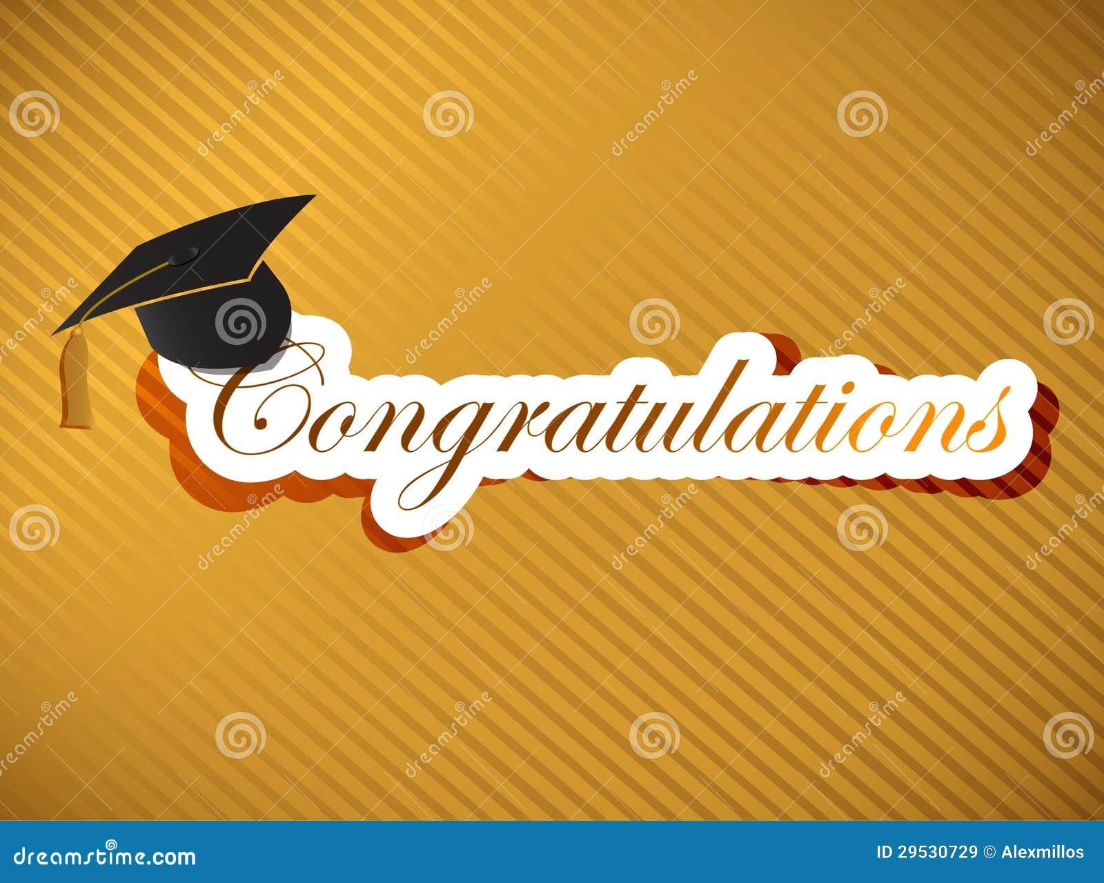 Graduação - rotulação das felicitações