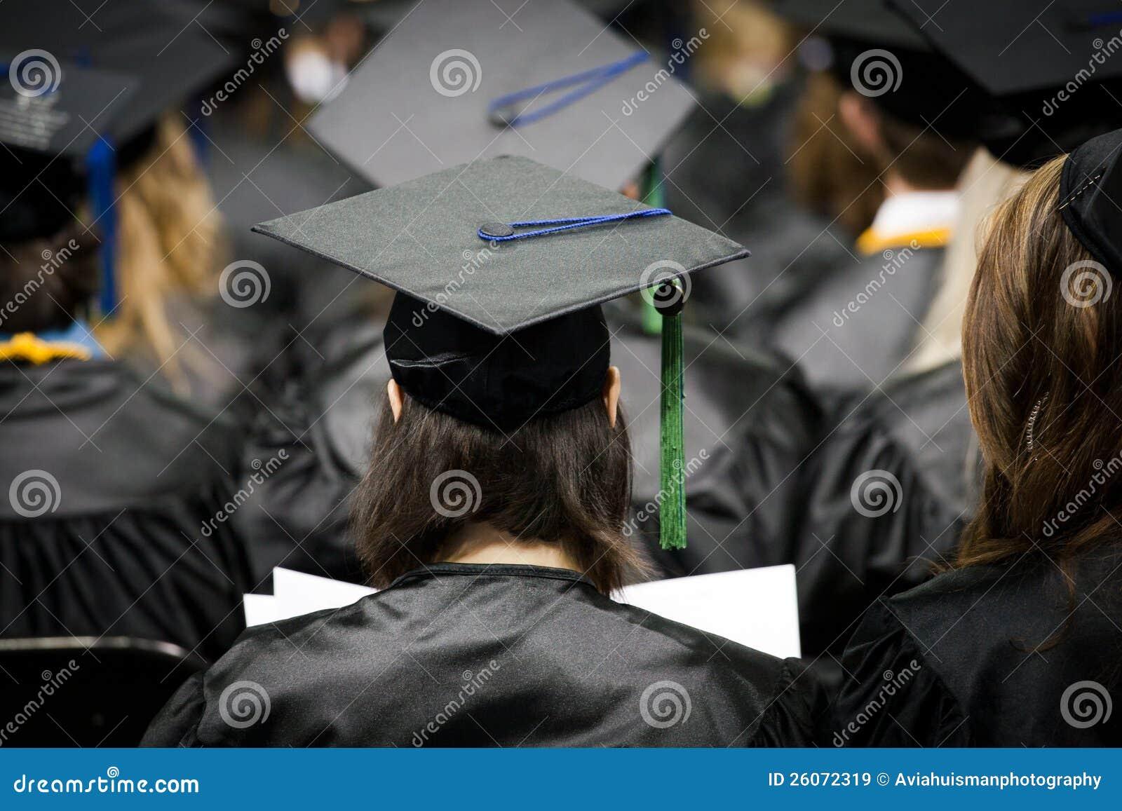 Graduados el día de graduación