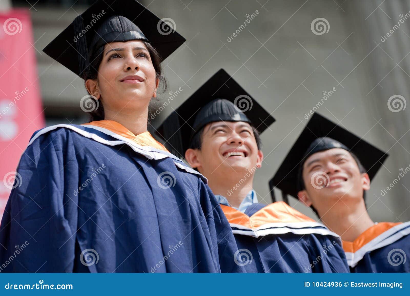 Graduados jovenes